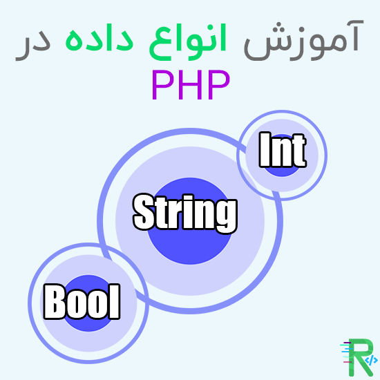 آموزش انواع داده در PHP