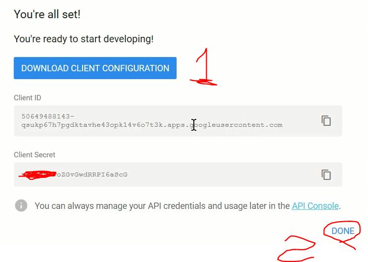 ورود با حساب گوگل در PHP